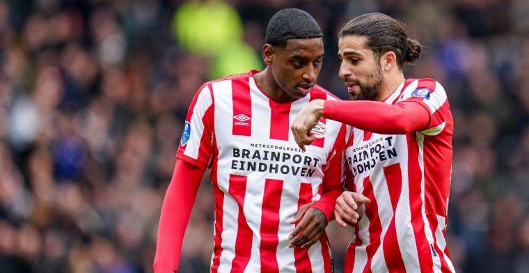 Schade bij PSV-back Rodríguez lijkt mee te vallen: 'Ik denk dat het oké is'