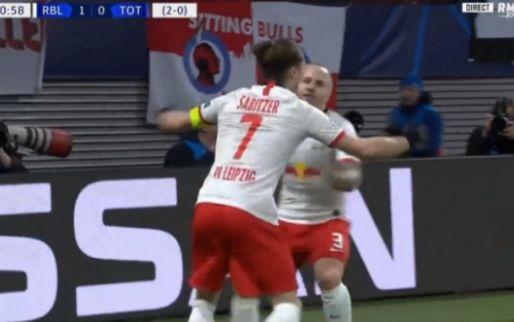 Doellijntechnologie in Leipzig: Spurs in de problemen na puntgave voorzet Angeliño