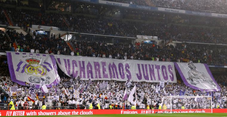 Komende twee speelronden geen publiek in Spanje: Real Madrid hardst getroffen