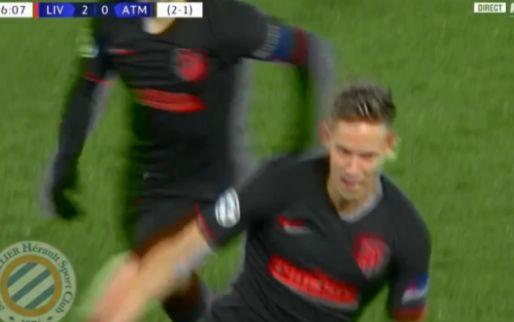 Spektakel op Anfield: Wijnaldum met assist, blunderende Adrián, twee Atléti-goals