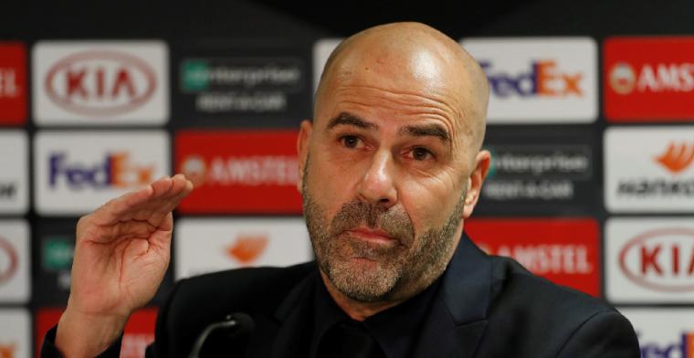 Bosz doet oproep aan UEFA: 'Heb dit nog nooit meegemaakt, dit hoort niet'
