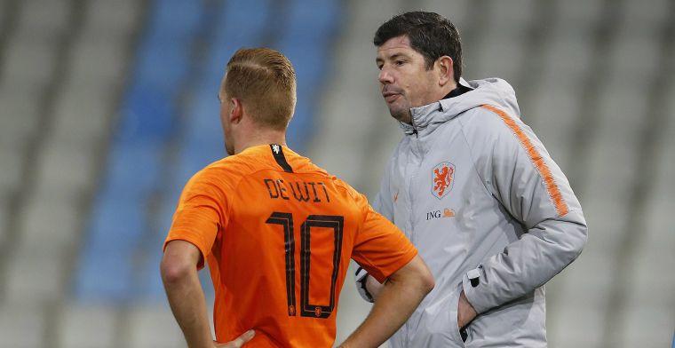Zirkzee, Gravenberch en twee anderen debuteren in voorselectie Jong Oranje