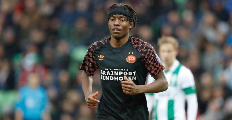 Madueke definitief bij PSV 1: 'Kan moeder me dichterbij afzetten, scheelt weer'