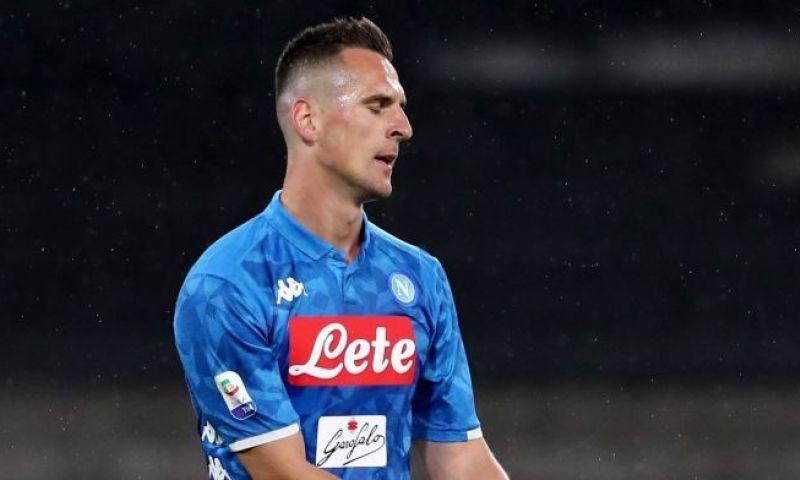 Afbeelding: 'Napoli bereikt maar geen akkoord en overweegt Milik op transferlijst te zetten'