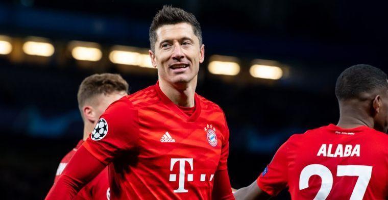 Ramos en Ronaldo praatten op Lewandowski in: 'Zou naar een geweldige club kunnen'