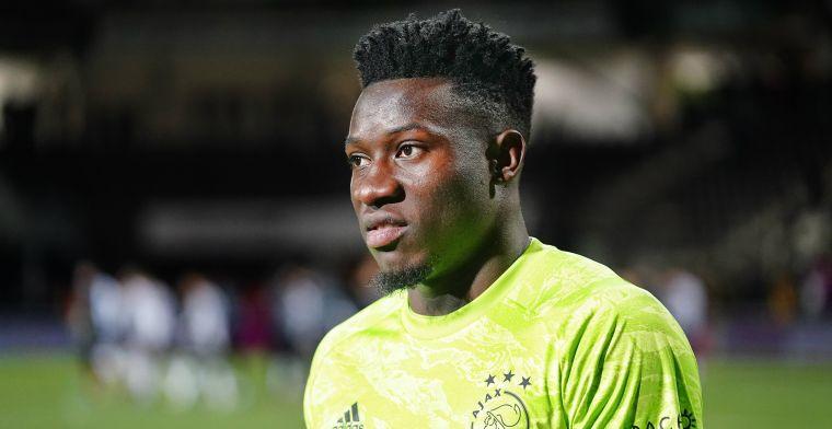Onana totaal van slag door 'grapje' van Schöne bij Ajax: 'Ik was in paniek'