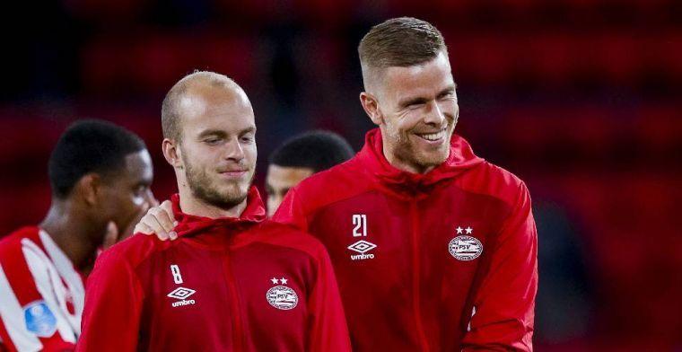 PSV'ers zitten thuis: Heb het gevoel een beetje opgesloten te zitten