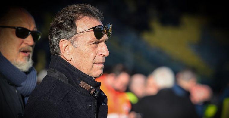 Brescia-voorzitter fileert Serie A-clubs: 'Die mensen zijn erger dan coronavirus'
