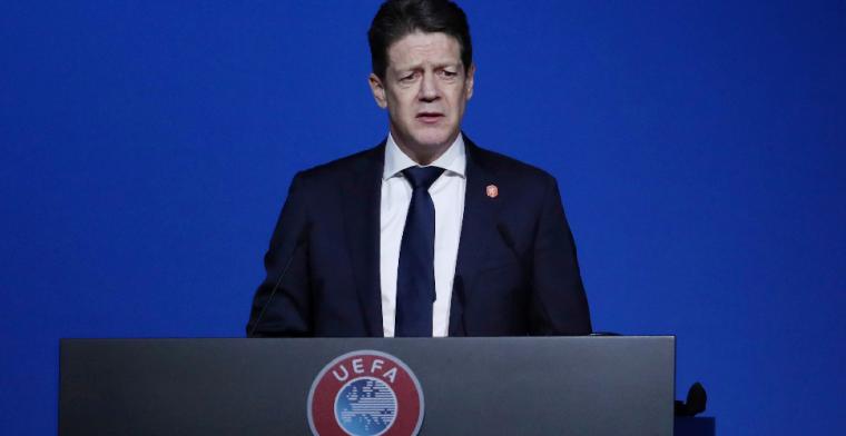 KNVB-voorzitter legt uit: zelfs schrappen van wedstrijden is een optie
