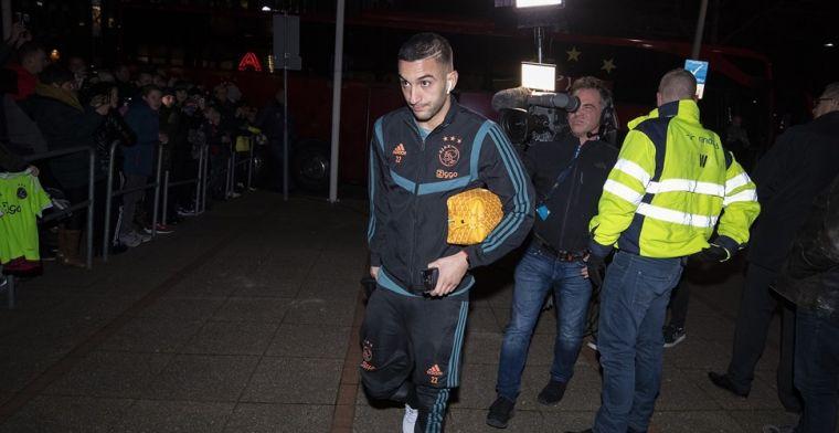 'Je kunt je niet voorstellen dat Ajax Ziyech dan in de zomer laat gaan'