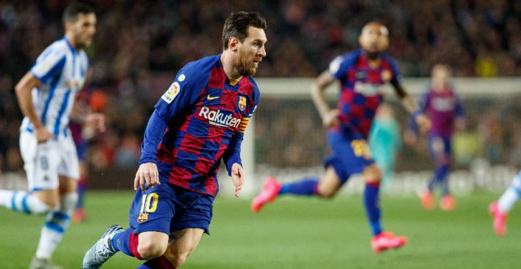 'Messi met 358.000 euro per dag bestbetaalde speler, Simeone duurste trainer'