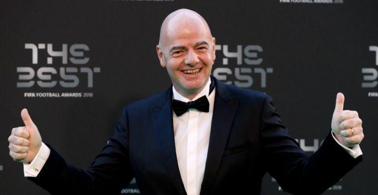 FIFA-baas draait om als blad aan een boom: 'Minder teams, maar meer balans'
