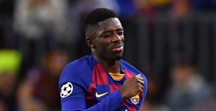 'Barcelona vindt oorzaak van Dembélé-problemen en wil door'