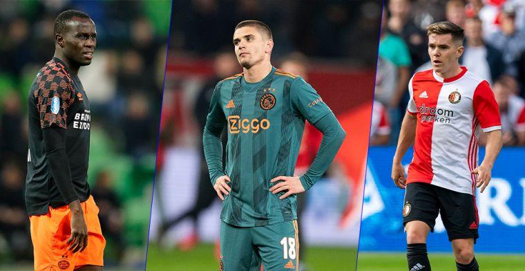 PSV hoflevancier, Ajax verkwanselt 27 miljoen: de 10 grootste miskopen dit seizoen