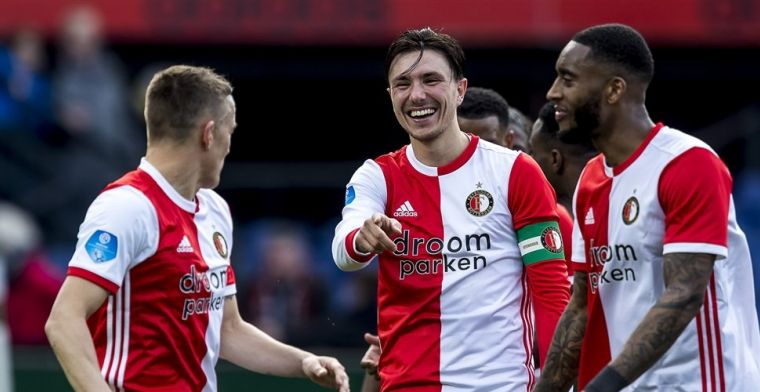 'Roma wil Berghuis betrekken in permanente Feyenoord-transfer'