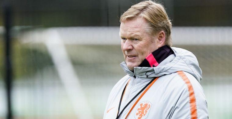 Koeman rekent op tien maanden zonder Oranje-internationals
