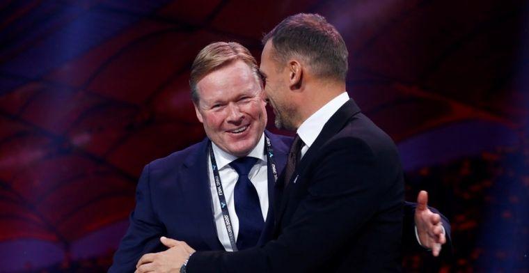 Koeman in contact met EK-assistent: 'Ligt aan hem, wat gaat hij doen bij PSV?'
