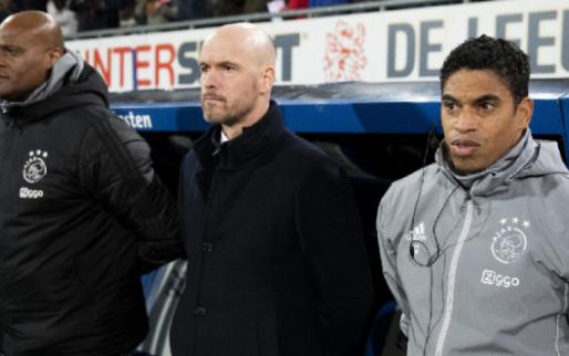Opvallende claim Derksen over Ajax: 'Gesproken of ze door moeten met Ten Hag'