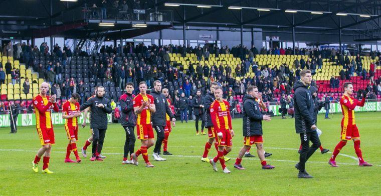 Go Ahead neemt drastische maatregelen: contracten van 14 spelers opgezegd