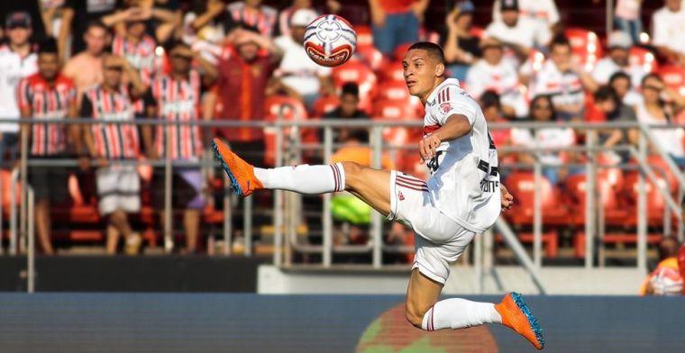Moura voorziet Antony van advies: Hij gaat naar een grote club