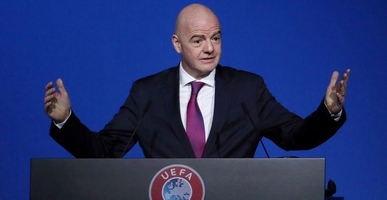 'FIFA wil spelerscontracten en transferperiode verlengen vanwege coronacrisis'