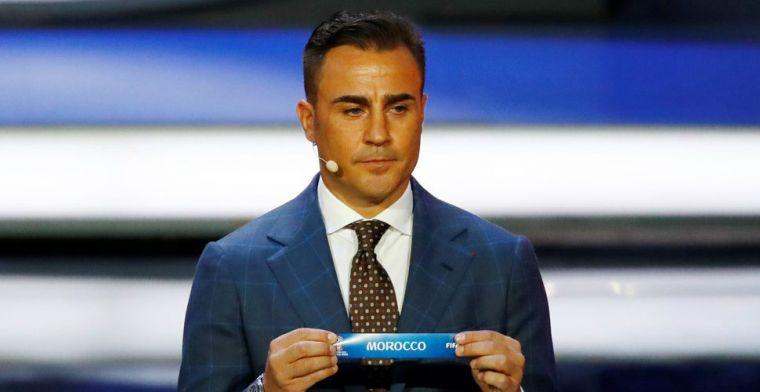 Cannavaro zorgt voor mondkapjes én ambulances: 'Voelde dat ik iets moest doen'