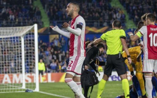 Ajax krijgt geldboete van de UEFA, maar voorwaardelijke straf wordt niet omgezet