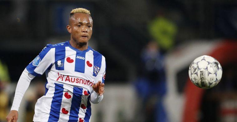 Clubs informeren bij Heerenveen naar Ejuke: 'Maar geen Marseille'