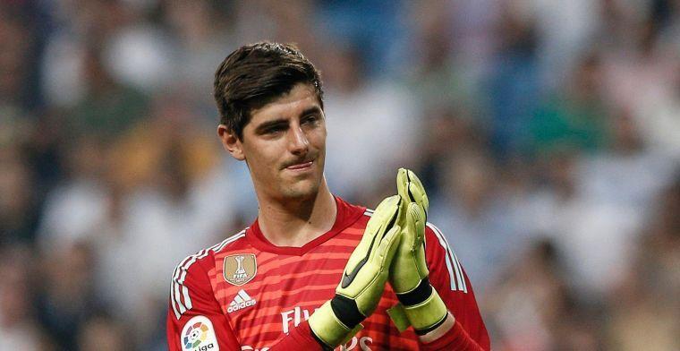Courtois geeft inkijk in zijn leven: 'Casillas en Van Der Sar waren mijn voorbeeld