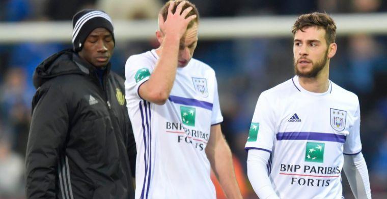 'Ik had niet naar Anderlecht moeten gaan, ik heb er mijn tijd verspild'