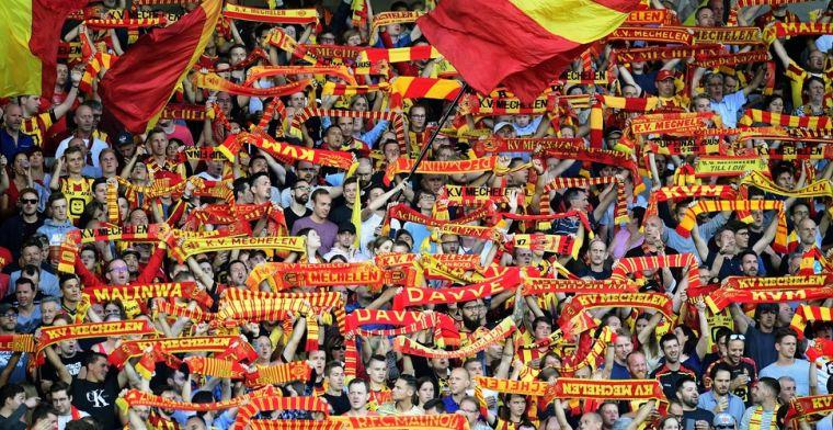 KV Mechelen kiest niet voor werkloosheid, wél 100.000 euro voor zorgsector