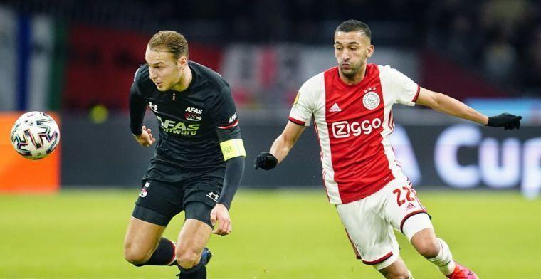 Driessen: 'Dan doet Ziyech er goed aan niet meer in actie te komen voor Ajax'
