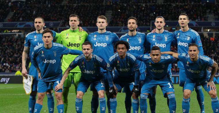 Spelers en staf Juventus staan loon af, in totaal goed voor 90(!) miljoen euro