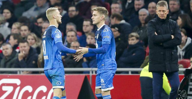 'Nog een jaar Jong Ajax was niet de beste optie: Heracles was dat wel'