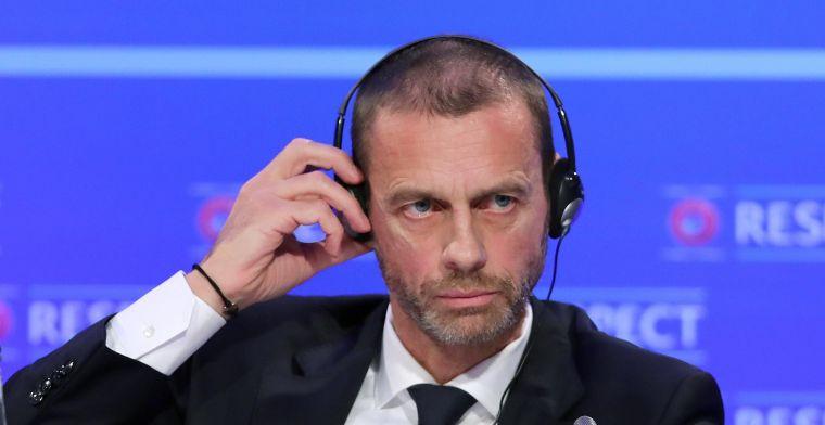 UEFA denkt na over hervatting: We hebben voorlopig drie pistes