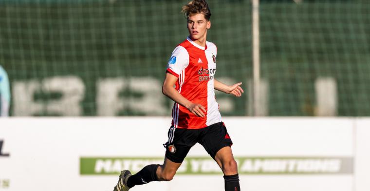 Feyenoord-talent duidelijk: Ik wil in de voetsporen treden van Virgil van Dijk