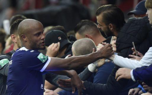 'Kompany weet vandaag zeer goed wie achter hem staat bij Anderlecht'