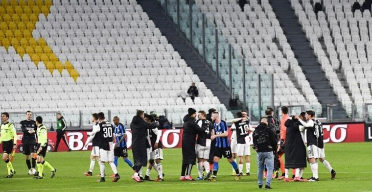 Italiaanse minister kondigt aan: in april geen wedstrijden én trainingen