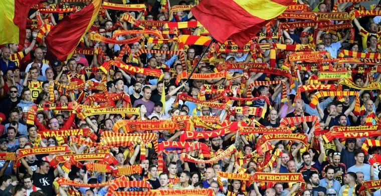 Fans KV Mechelen kunnen zondag invullen met integrale uitzending van bekermatch