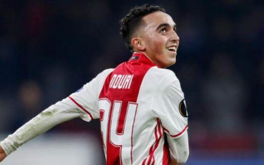 Ajax zegt contract Nouri op en 'zou fiscaal gunstigere regeling kunnen treffen'
