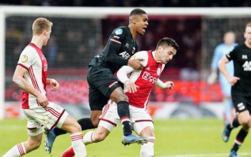 Janssen wil titelduel tussen Ajax en AZ: 'Elke vijf minuten speler van het veld'