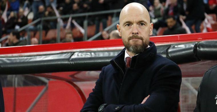 Ten Hag en Ajax werken aan oplossing: 'Zodat spelers elkaar kunnen uitdagen'