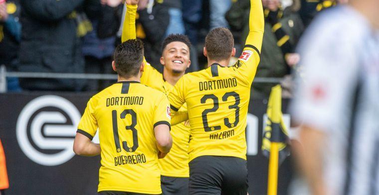 Dortmund zet deur op een kier voor transfer Sancho: 'Dat moeten we respecteren'