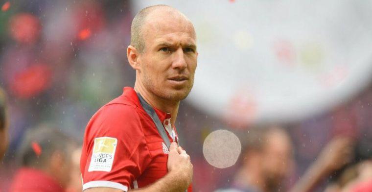 'Robben gaat vanuit huis weer meetrainen met oude Bayern-collega's'