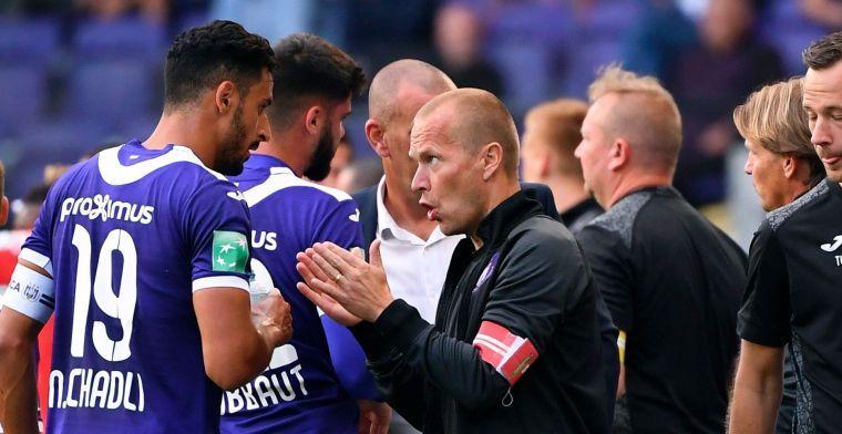 Komst Kompany zorgde voor minder takenpakket Zetterberg bij Anderlecht