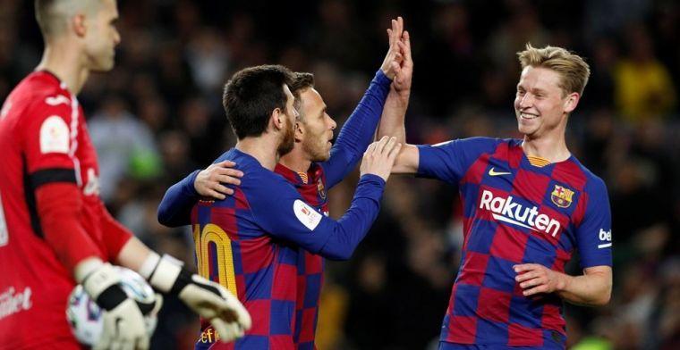 Messi zet de Jong bij de vijftien grootste talenten: 'Een van de beste'