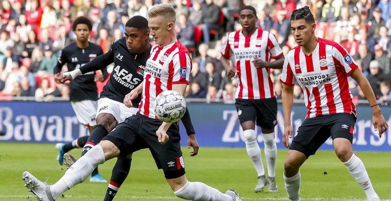 AD: 'PSV en AZ steunen Ajax en hopen op voortijdig einde van het seizoen'