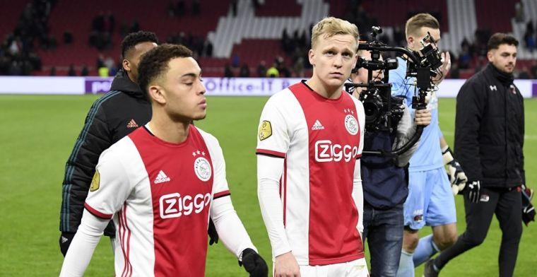 Ajax loopt miljoenen mis: 'Transfers Dest en Van de Beek waren bijna zekerheidjes'