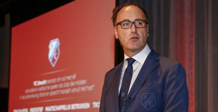 FC Utrecht steunt Ajax niet: 'Een clubbelang, net als Ajax dat als koploper heeft'