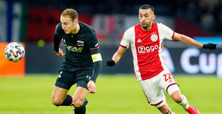 'Groots gebaar' van AZ: 'In punten gelijk met Ajax, het kan ze veel geld schelen'